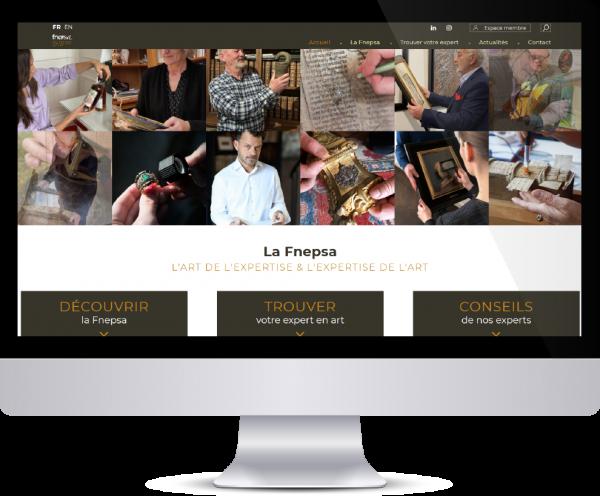 Refonte de site web par Agoraline pour la FNEPSA