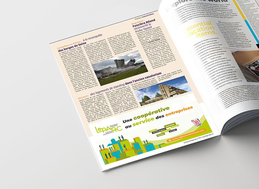 Agence de création print et web dans le Val d'Oise 95