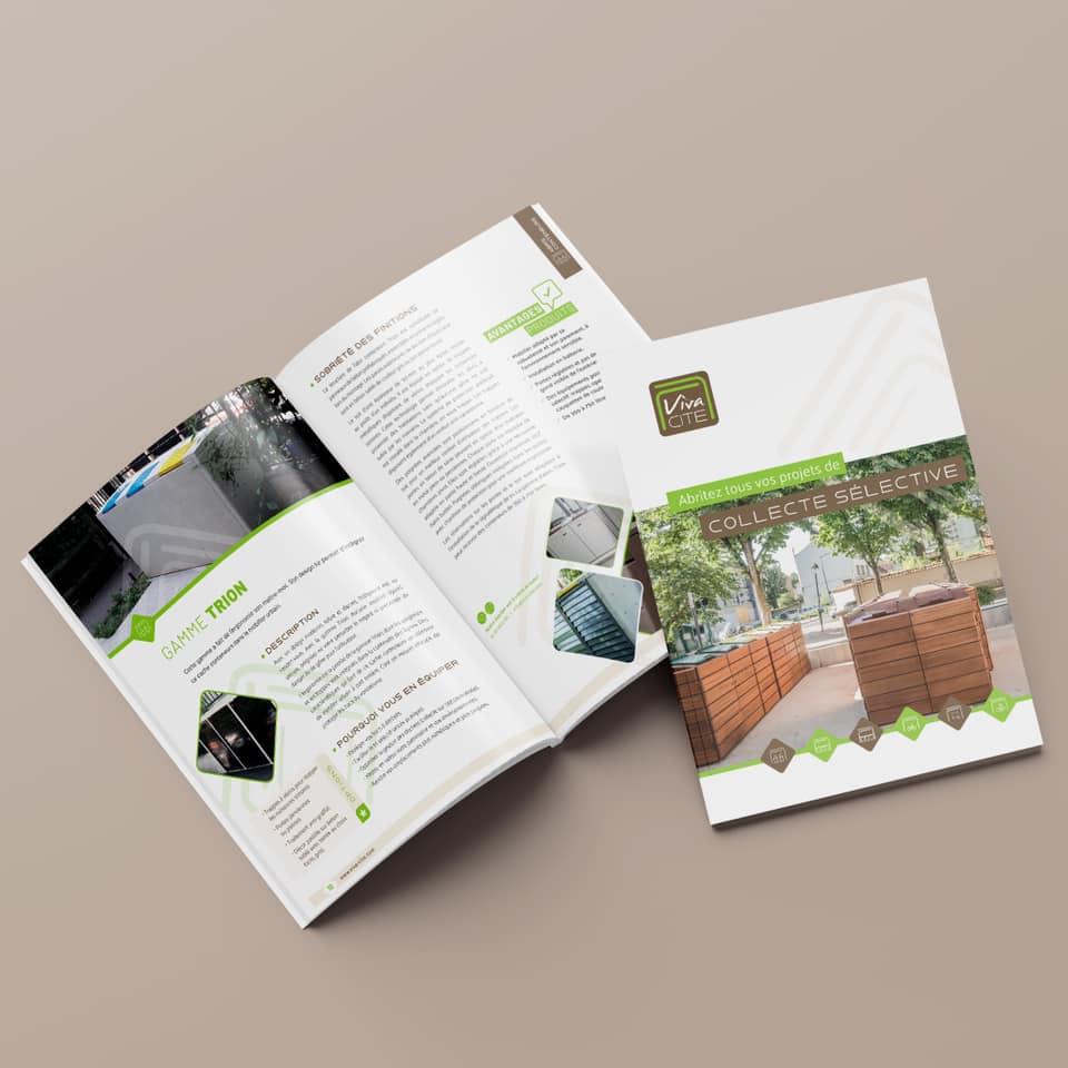 Agoraline : votre agence de communication print pour la création de catalogues et brochures