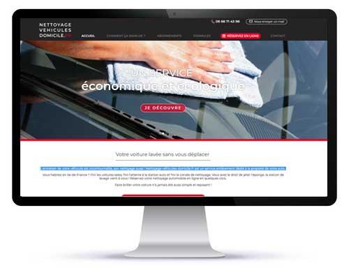 Le site internet de Nettoyage de véhicules