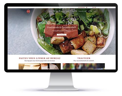 Refonte technique et graphique d'un site ecommerce d'un traiteur à Paris