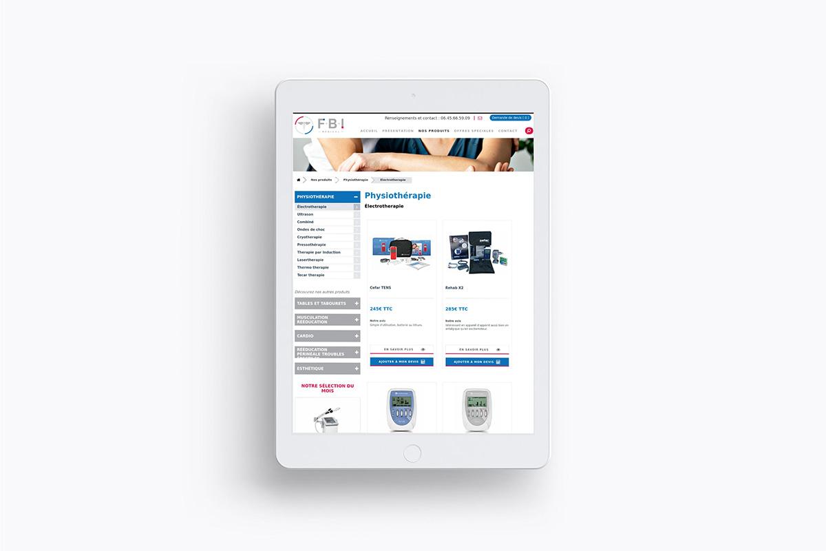 Conception et création de site responsive compatible mobile, ordinateur et tablette