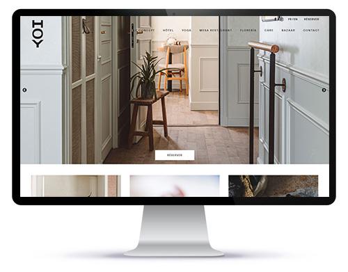 Création de site web hôtellerie restauration à paris