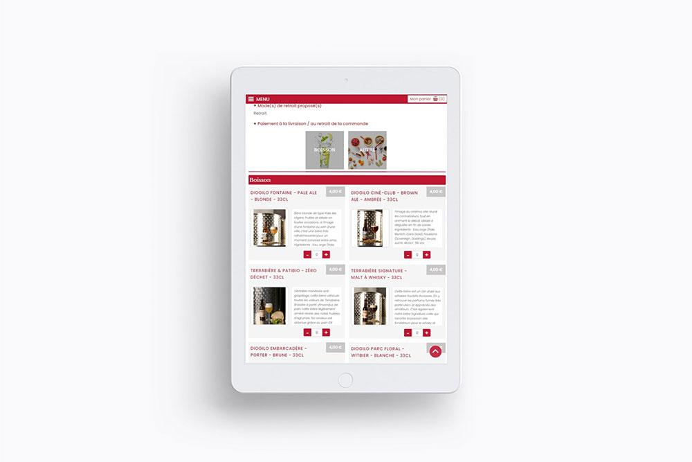 Conception graphique et création de site internet responsive et webmarketing