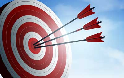 Représentation visuelle toucher de nouveaux clients qualifiés
